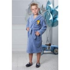Детский бамбуковый халат Малыш (цвет: голубой)