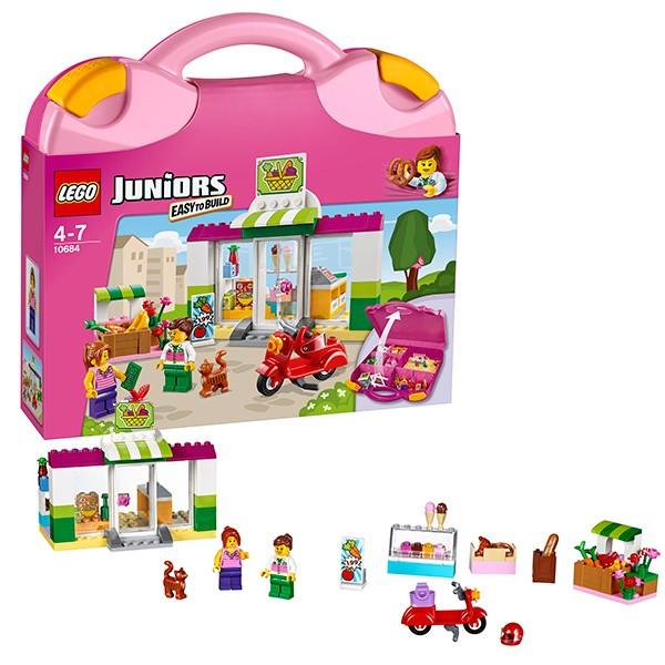 Конструктор - LEGO Juniors Чемоданчик-Супермаркет