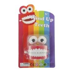 Прикольная игрушка Заводная челюсть