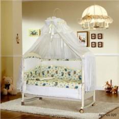 Постельный комплект в кроватку с балдахином «Млечный путь»