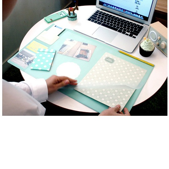 Планшет для рабочего места Smile New Color (цвет apple mint)