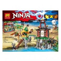Конструктор Lele Ninja Остров тигриных вдов
