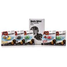 Игровой набор из пяти птичек на колесах Angry Birds