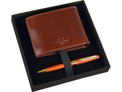 Набор: портмоне, шариковая ручка Alessandro Venanzi