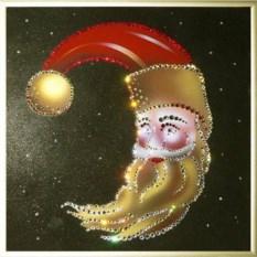 Картина Swarovski Новогодний месяц