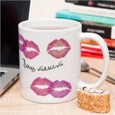 Фотокружка «Нежные поцелуи»
