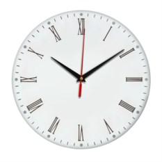 Настенные классические часы с римскими цифрами
