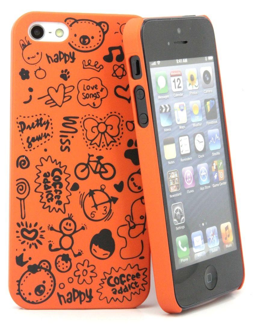 Пластиковая накладка для Iphone 5