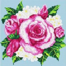 Алмазная вышивка «Розовые розы»