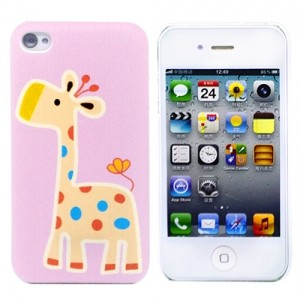 Чехол для iPhone 4/4S Giraffe