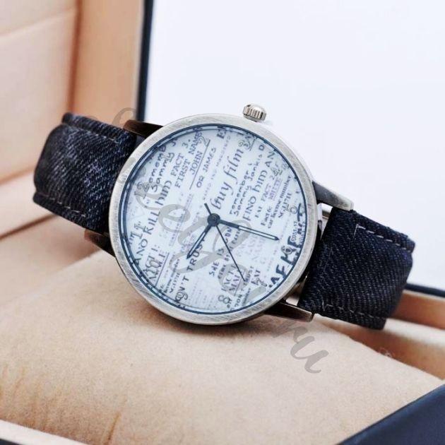 Наручные часы Newspaper – Dark Grey