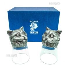 Набор из двух стопок Два кота: перс и шотландец