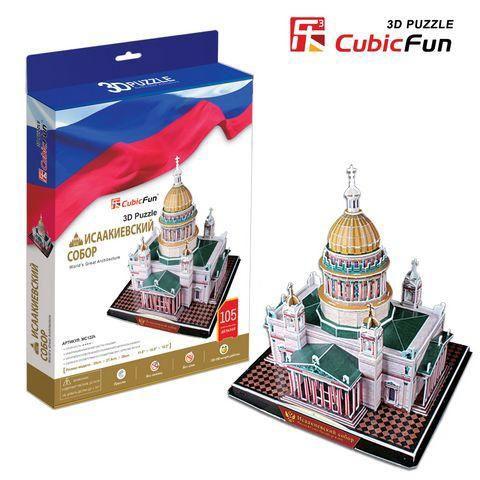 3D Пазл Исаакиевский собор (Россия)