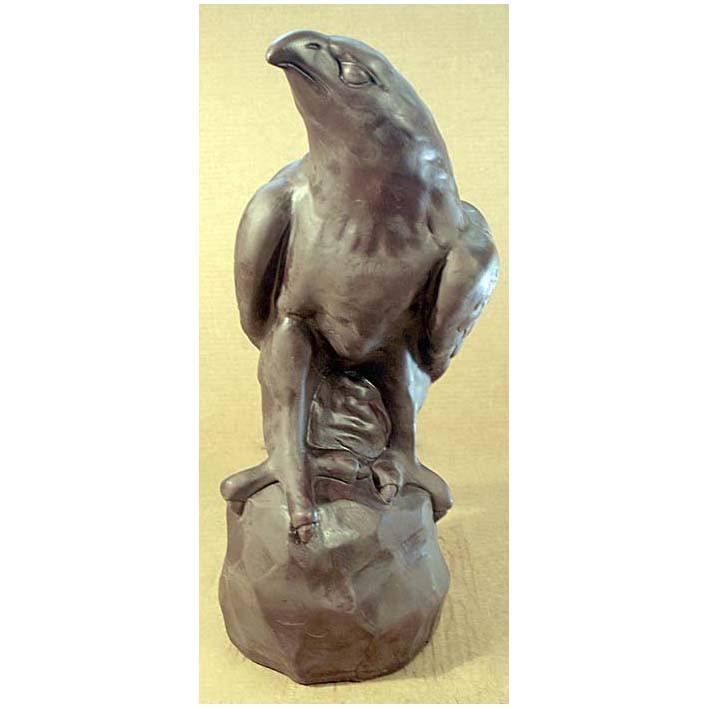 Шоколадная фигурка «Сокол на камне»