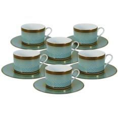 Чайный набор на 6 персон Бирюза от Naomi