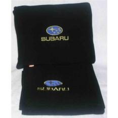 Черный плед Subaru