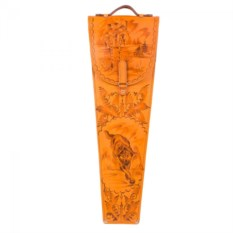 Подарочные шампура в колчане из кожи Волк