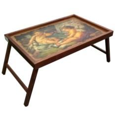 Столик для завтрака в постели Ангелы