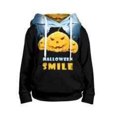 Детская 3D-толстовка Halloween smile