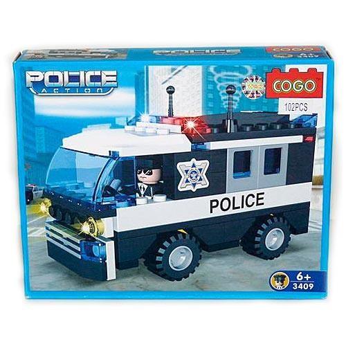 Конструктор Cogo Полицейская машина