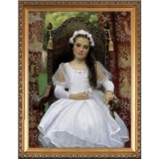 Красивый портрет для дочери