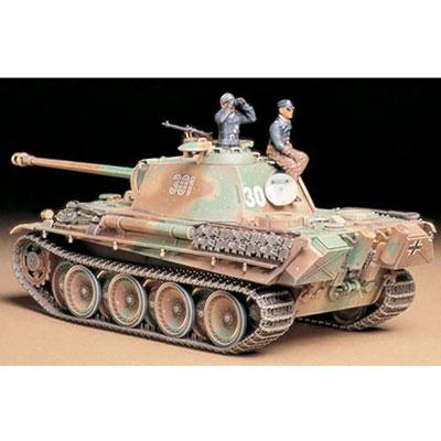 Танк Panther Type G (поздняя версия)