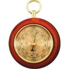 Коричневый настенный барометр