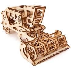 Механический 3D-конструктор Ugears «Комбайн»