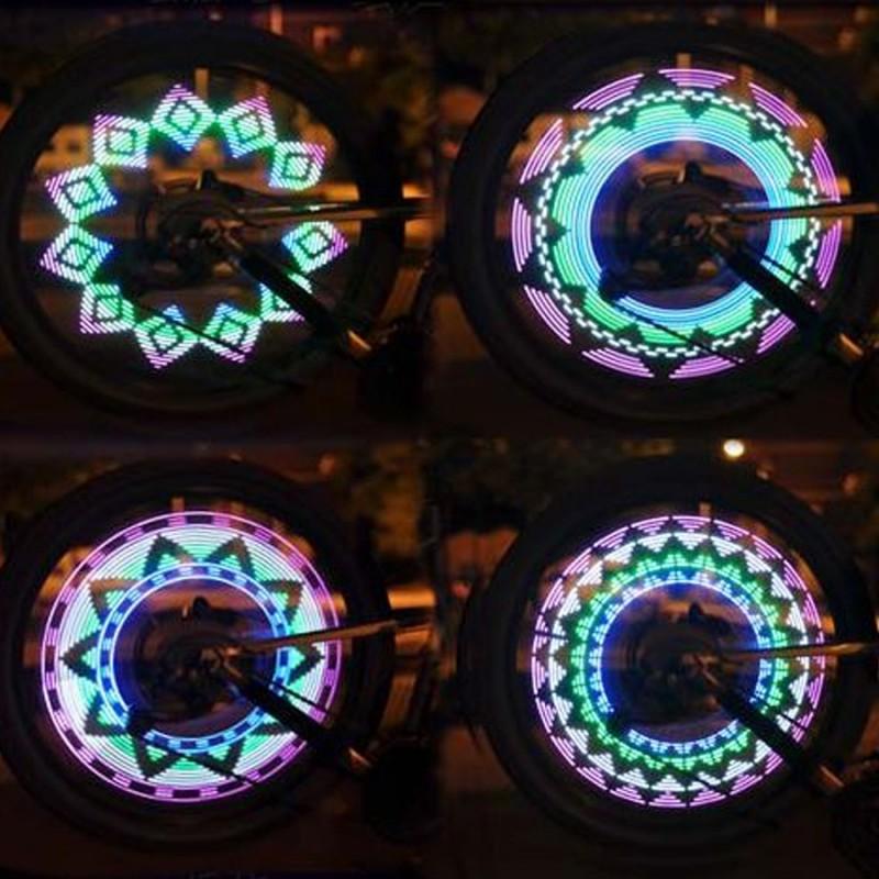 Светодиодная подсветка колеса велосипеда