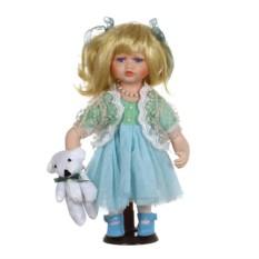 Фарфоровая кукла Кьярас мягконабивным туловищем