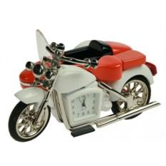 Настольные часы Мотоцикл с коляской