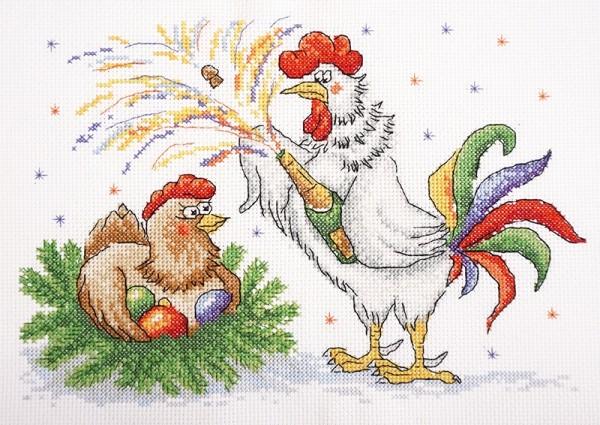 Набор для вышивания Сюрприз к празднику
