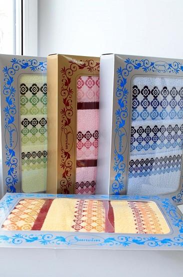 Подарочный набор полотенец Камушки