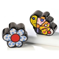 Набор для соли и перца коллекция Butterfly&Flowers от Britto