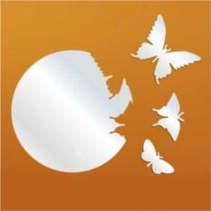 Декоративное зеркало Порхающие бабочки