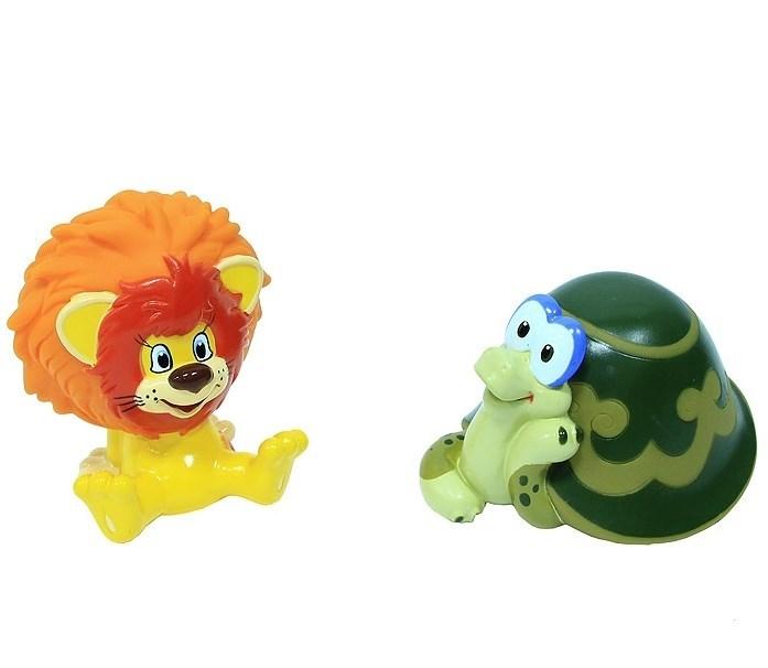 Набор игрушек для ванной Львенок и Черепаxа