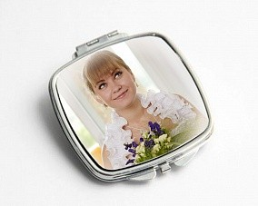 Зеркальце с Вашей фотографией