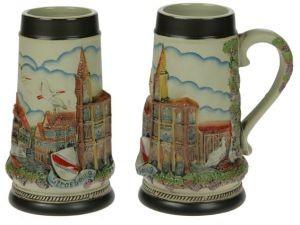 Пивная коллекционная кружка Страсбург