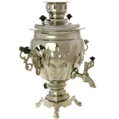 Набор с самоваром на 3 литра Серебряная фантазия