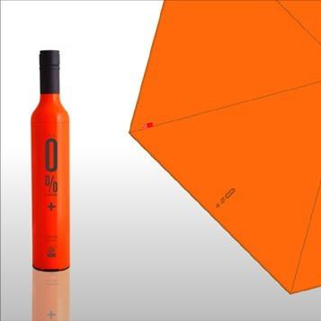 Зонт-бутылка 0% Plus