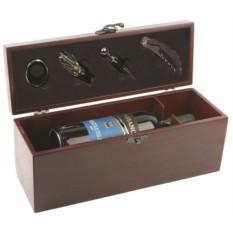 Подарочный набор для вина Венге в футляре
