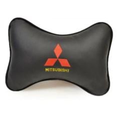 Подушка на подголовник из экокожи Mitsubishi