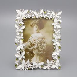 Рамка «Ажурные белые бабочки», ограниченный выпуск