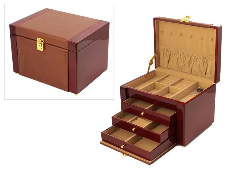 Шкатулка для ювелирных изделий 32*25*22 см.