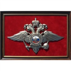 Панно с символикой МВД