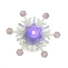 Новогоднее украшение Снежинка с LED подсветкой