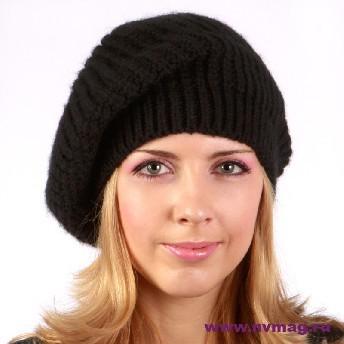 Женская обьемная шапка