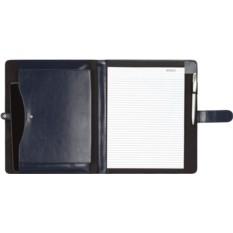 Синяя папка для документов с блокнотом и отделением для iPad