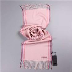 Теплый розовый шарф из кашемира Krizia