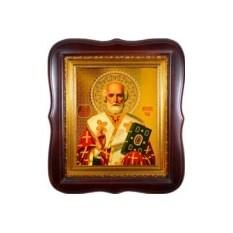 Икона литография Святой Николай Угодник Чудотворец